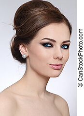 Make-up and hairstyle