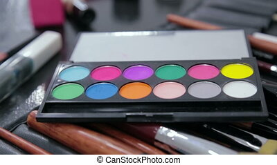 Make up artist accessories. Beauty, makeup and fashion...