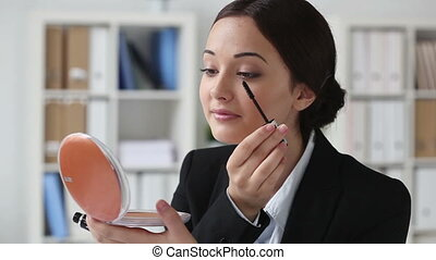 Make-up at workplace