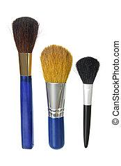 make-up, bürsten
