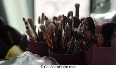 Make up brushes professional kit