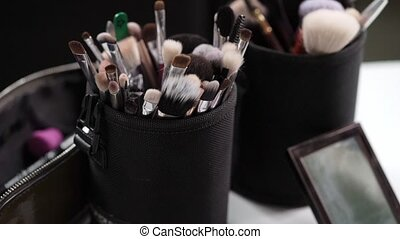 Make up brushes set kit