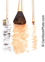 make-up brushes