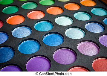 make-up eye shadows