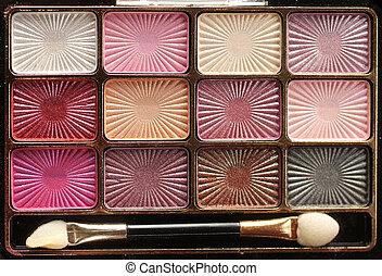 Make up eyeshadow - Make-up eyeshadow palettes with makeup...