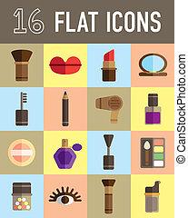 make up flat icon