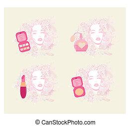 Make-up girl - poster set