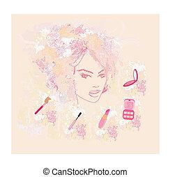 Make-up girl - poster