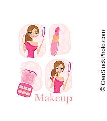 Make-up girl set