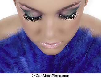 Girl with beautiful make up