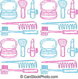 make up kit pattern