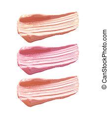 make up lipgloss isolate set