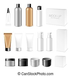 Make-up packaging product - Make up. Tube of cream or gel...
