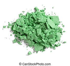 make up powder facial cosmetics - close up of a make up...