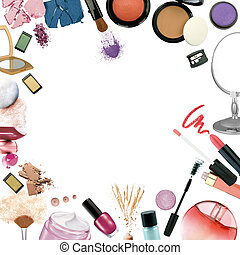 Photo of ake up products