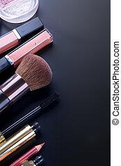 make-up, professioneel, grens