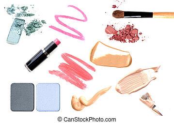 Make-up Set. Collage.