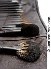 make-up set - make- up set on white background