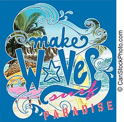 make wave surf paradise