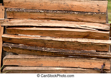 Make wood fence.