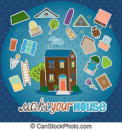 Make Your House - night version
