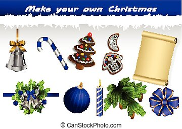Make your own Christmas Set