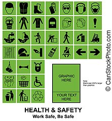 Make your own Health and Safety signs - Green make your own...