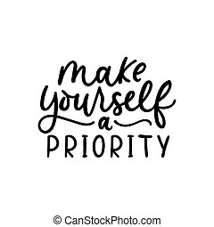 Make yourself a priority poster