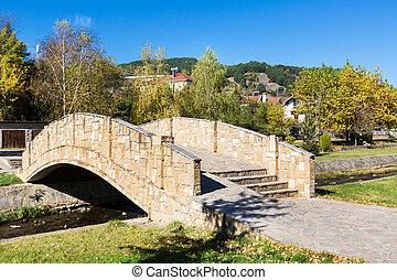Makedonska Kamenica town in Republic of Macedonia