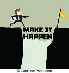 maken, informatietechnologie, happen