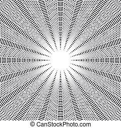 makend, chaotisch, model, abstract, lijnen, style., effects., visueel, achtergrond, geometrisch, lined, illusie, optisch