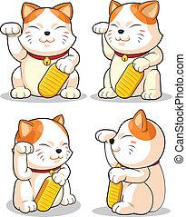 (makeni, neko), κακοτυχία , severa, γάτα