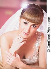 Makeup bride wedding