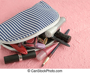 makeup case - spilled makeup from case