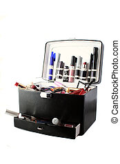 makeup case - case full of makeup