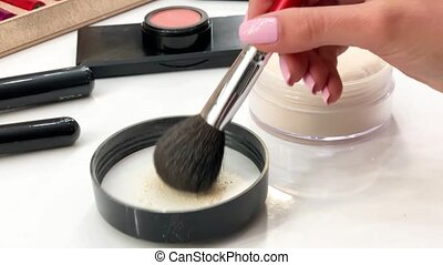 Makeup cosmetic products organic decorative cosmetics for...