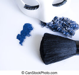 makeup, masker, accessoires