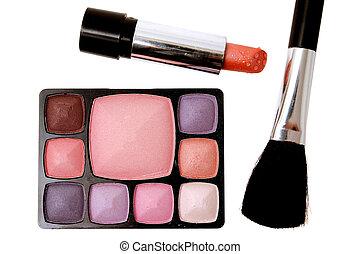 Makeup (Shadow,brush,lipstick)