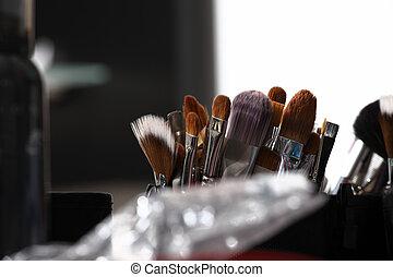 makeup zawadza, closeup