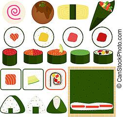 Maki (Rolled Sushi)