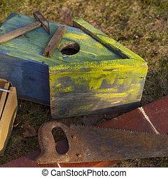 making a bird nest box