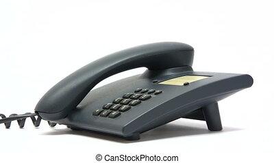 Making a Business Call - Canon HV30. HD 16:9 1920 x 1080 @...