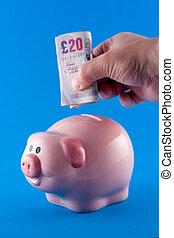 Making a cash deposit