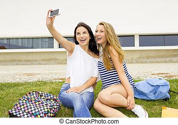 Making a selfie5
