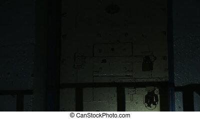 Making a spooky gate shot