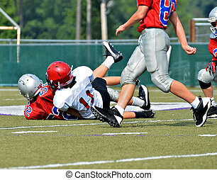 Making a Tackle