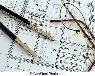 Making architectural plan