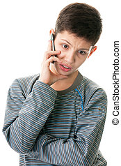Making arguments while phone talk