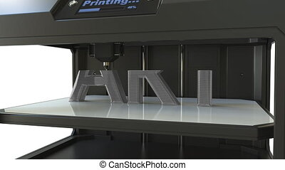 Making ART volumetric text with a metal printing 3D printer,...