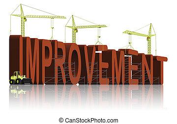 making improvement - tower cranes building 3D word ...